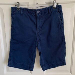 Gap Kids Boys Chino Shorts - Navy - Size 14